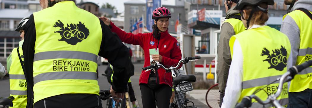 Eine Fahrradtour auf Deutsch mit Reykjavik Bike Tours