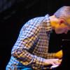 Der Pianist Agnar Már Magnússon beim Reykjavik Jazz Festival