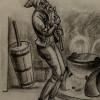 Am 15. Dezember kommt Þvörusleikir, der Löffellecker