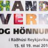 Handverk og hönnun, im Rathaus, 15.–19. Mai 2014