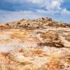 Das geothermale Feld Gunnuhver