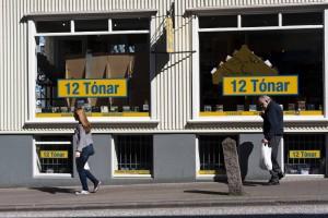 12 tónar in der Skólarvörðurstígur, ©Sabine Burger, Alexander Schwarz, 2012-05-03__MG_6773_00003