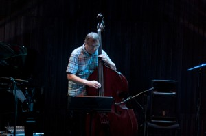 Hot Eskimos, Reykjavik Jazz Festival 2012, Harpa, 1. September, Jón Rafnsson (Kontrabass), ©Sabine Burger, Alexander Schwarz, 2012-09-01__MG_2003_00002