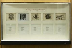 Die Originalzeichnungen von Tryggvi Magnússon in der Nationalbibliothek Islands, ©Sabine Burger, Alexander Schwarz, 2012-12-11__MG_6608_00014