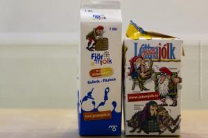 Milchpackungen mit einigen der isländischen Weihnachtsmänner, ©Sabine Burger, Alexander Schwarz, 2012-12-11__MG_6631_00027