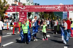 Auch dieses Jahr findet der Reykjavik Marathon wieder während der Menningarnótt statt. ©Sabine Burger, Alexander Schwarz, 2011-08-20__MG_6923_00063