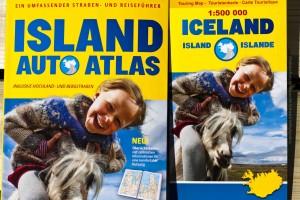 Wird alle zwei Jahre aktualisiert und ist somit immer aktuell: der Island Autoatlas. ©Sabine Burger, Alexander Schwarz, 2013-07-30__MG_7439_00014