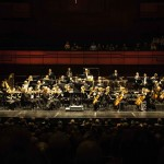 Harpa, das Sinfonieorchester spielt auf. ©Sabine Burger, Alexander Schwarz, 2013-08-24__MG_1183_00034