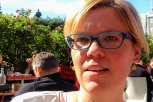 Die Autorin Tina Bauer, ©Sabine Burger/Alexander Schwarz/inreykjavik.is, 2013-08-20_Tina Bauer-3_00001-3