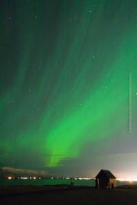 Die Umgebung der Grótta eignet sich auch gut zum Nordlicht-Schauen. ©Sabine Burger, Alexander Schwarz, 2013-02-14__MG_8764_00036