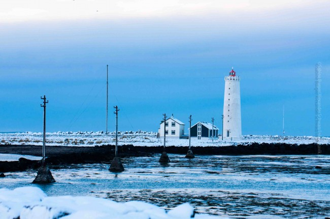 Auch im Winter ein bezaubernder Ort, die Grótta in Seltjarnarnes, ©Sabine Burger, Alexander Schwarz, 2013-12-15__MG_1218_00035
