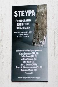 Auch 2014 wird es wieder eine Steypa-Ausstellung an gleicher Stelle geben. ©Sabine Burger, Alexander Schwarz, 2014-05-29__MG_8551_00001