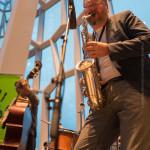 André Nendza (b), Sigurður Flosason (sax), ©Sabine Burger, Alexander Schwarz, 2016-08-10_L1000877_00048