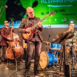 Andrés Þór Quartet – Andrés Þór Gunnlaugsson (g), Agnar Már Magnússon (p), Richard Andersson (b), Scott McLemore (dr), ©Sabine Burger, Alexander Schwarz, 2016-08-11_L1000998_00012