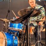 Andrés Þór Quartet – Andrés Þór Gunnlaugsson (g), Agnar Már Magnússon (p), Richard Andersson (b), Scott McLemore (dr), ©Sabine Burger, Alexander Schwarz, 2016-08-11_L1010024_00023