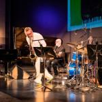 Einar Scheving Quartet: Einar Scheving (d, p), Eyþór Gunnarsson (p), Óskar Guðjónsson (s), Skúli Sverrisson (b), ©Sabine Burger, Alexander Schwarz, 2016-08-11_L1010316_00106
