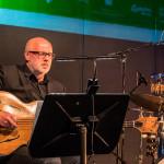 Einar Scheving Quartet: Einar Scheving (d, p), Eyþór Gunnarsson (p), Óskar Guðjónsson (s), Skúli Sverrisson (b), ©Sabine Burger, Alexander Schwarz, 2016-08-11_L1010434_00141