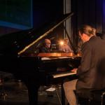 Einar Scheving Quartet: Einar Scheving (d, p), Eyþór Gunnarsson (p), Óskar Guðjónsson (s), Skúli Sverrisson (b), ©Sabine Burger, Alexander Schwarz, 2016-08-11_L1010487_00168