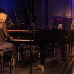 Sunna Gunnlaugs und Julia Hülsmann, ©Sabine Burger, Alexander Schwarz, 2016-08-12_L1010532_00003