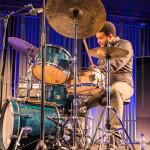 Gilad Hekselman Trio: Gilad Hekselman (g), Joe Martin (b), Kush Abadey (d), ©Sabine Burger, Alexander Schwarz, 2016-08-12_L1010814_00132